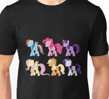 My Little Pony Friendship is Magic: Silhouette Art Unisex T-Shirt