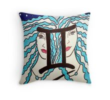 Gemini Throw Pillow