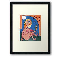 Lou Lou Framed Print