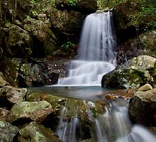 Terraced Waterfall by Lincoln Stevens