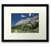 Suisse Postcards - 7 Framed Print