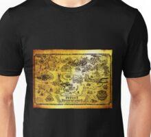 Hyrule Map Legend of Zelda Unisex T-Shirt