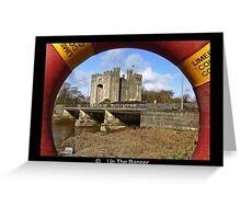 bunratty castle county clare ireland. scenic rural anicent irish countryside landscape photography Greeting Card