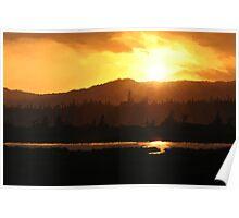 Stephenville Crossing Sunset Poster