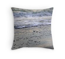 Tranquility - Colour Throw Pillow