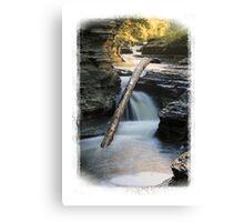 Upper Buttermilk Falls SP Canvas Print