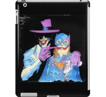 Joker and Batgirl - Comic - Original Fan Art iPad Case/Skin