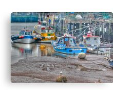 In The Harbour Metal Print