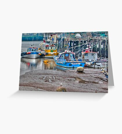 In The Harbour Greeting Card