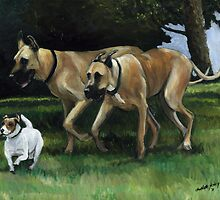 Running with the Big Boys by Charlotte Yealey
