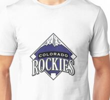 colorado rockies logo Unisex T-Shirt