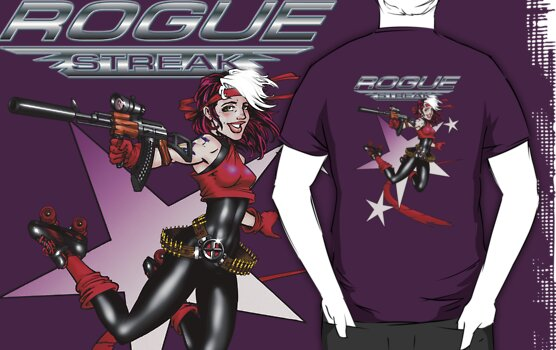 2011 Derby Rogue Streak With Logo by Ryan Wilton