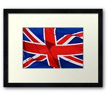 Flag /skirt,pillow,etc Framed Print