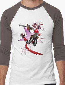 2011 Derby Rogue Streak W/O Logo Men's Baseball ¾ T-Shirt