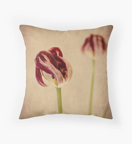Old Masters - Tulip Throw Pillow