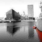 Liverpool Docks towards Mann Island by PhotogeniquE IPA