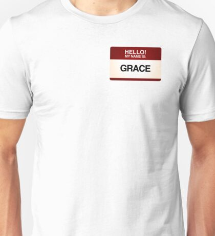 NAMETAG TEES - GRACE Unisex T-Shirt