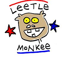leetle monkey 2 by Ollie Brock