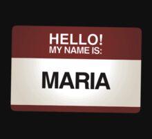 NAMETAG TEES - MARIA by webart
