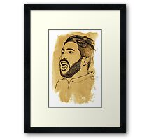 Sergio Ramos - Real Madrid - Spain - La Liga Framed Print