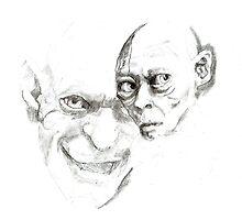 Gollum study by Sally O'Dell