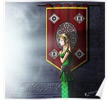 praying elf Poster
