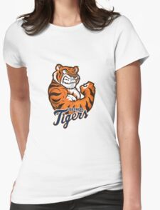 detroit tigers logo 2 Womens Fitted T-Shirt