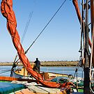 Thames Barges on Maldon Estuary, Essex by physiognomic