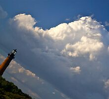 A Better Angle on the Clouds by NikonJohn