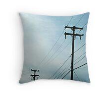 Poles Throw Pillow
