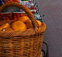 Cheese Stacked On Bike In Amsterdam by sceneryphotosto