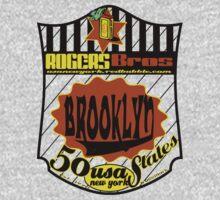 usa brooklyn hoodie by rogers bros T-Shirt