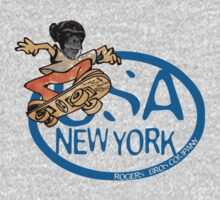 usa new york tshirt by rogers bros co by usahoodies
