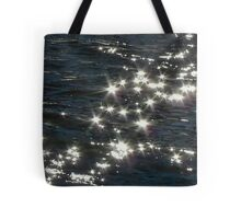 Now & Then Mother Nature Likes to Wear a Little Bling.. Tote Bag