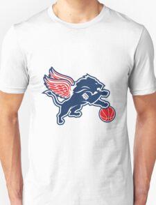 detroit tigers lions logo T-Shirt
