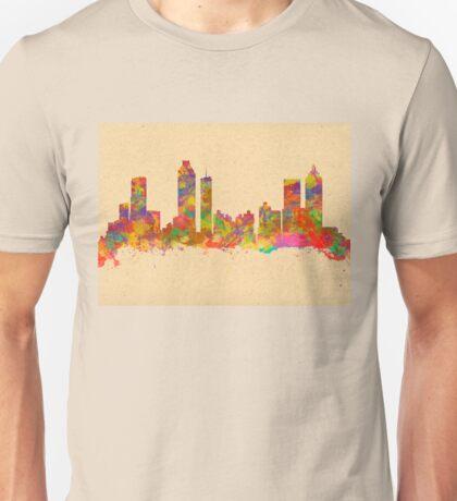 Skyline of Atlanta Georgia USA Unisex T-Shirt