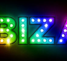 Ibiza in Lights by Michael Tompsett