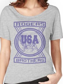 usa california hoodie by rogers bros co Women's Relaxed Fit T-Shirt