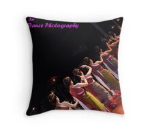 Challenge Banner _ Dance Photography Throw Pillow