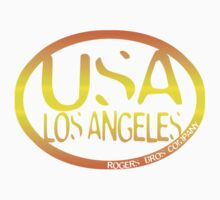 usa la sticker by rogers bros by usastickers
