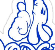 los angeles dodgers logo Sticker