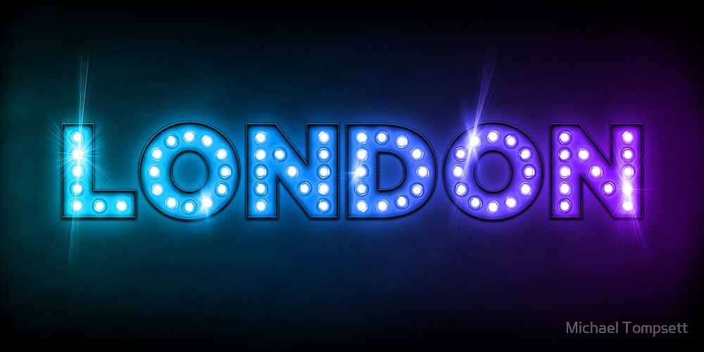 London in Lights by Michael Tompsett