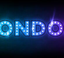 London in Lights by Michael Tompsett
