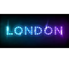 London in Lights Photographic Print