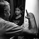 Artist And Child by SuddenJim