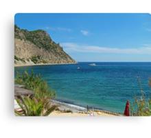 Ibiza Blue Canvas Print