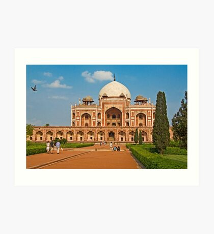 Humayun's Tomb UNESCO World Heritage Site Art Print
