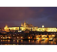 St Vitus Cathedral Photographic Print