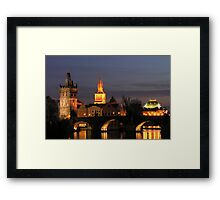 Old Town Tower Framed Print