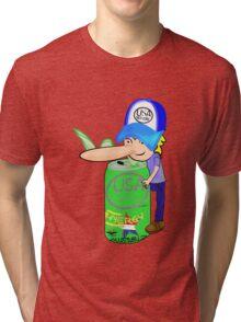 usa new york tshirt by rogers bros co Tri-blend T-Shirt